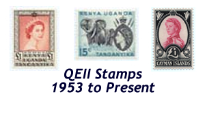 qeii stamps for sale
